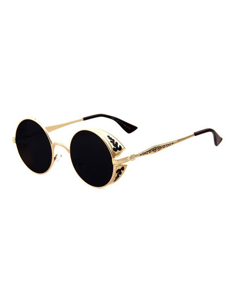 Ornament Gold Sunglasses