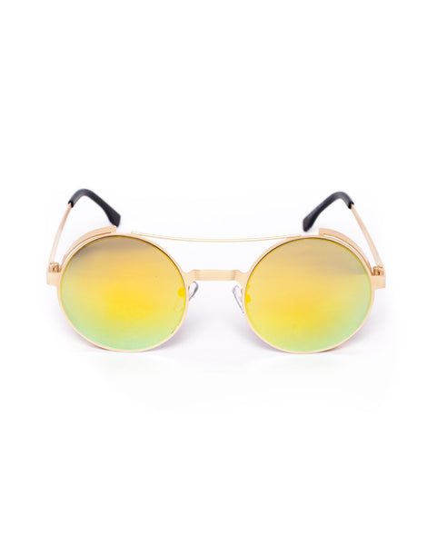 Robo Gold Sunglasses