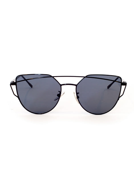 Crossover Black Sunglasses