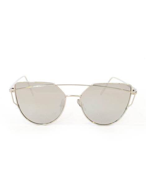 Crossover Silver Sunglasses