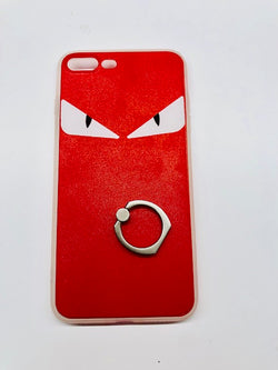 Fendi Case Angry eyes with ring holder stand