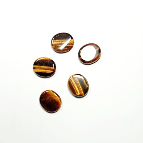Palm Stone - Tiger's Eye