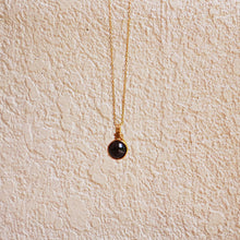 Dew Necklace - Garnet