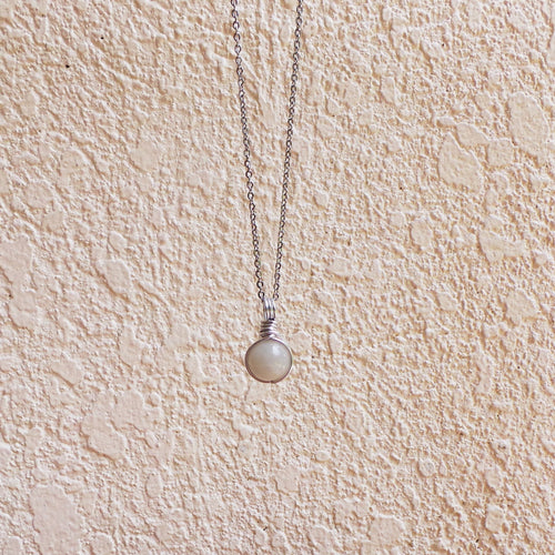 Dew Necklace - Moonstone