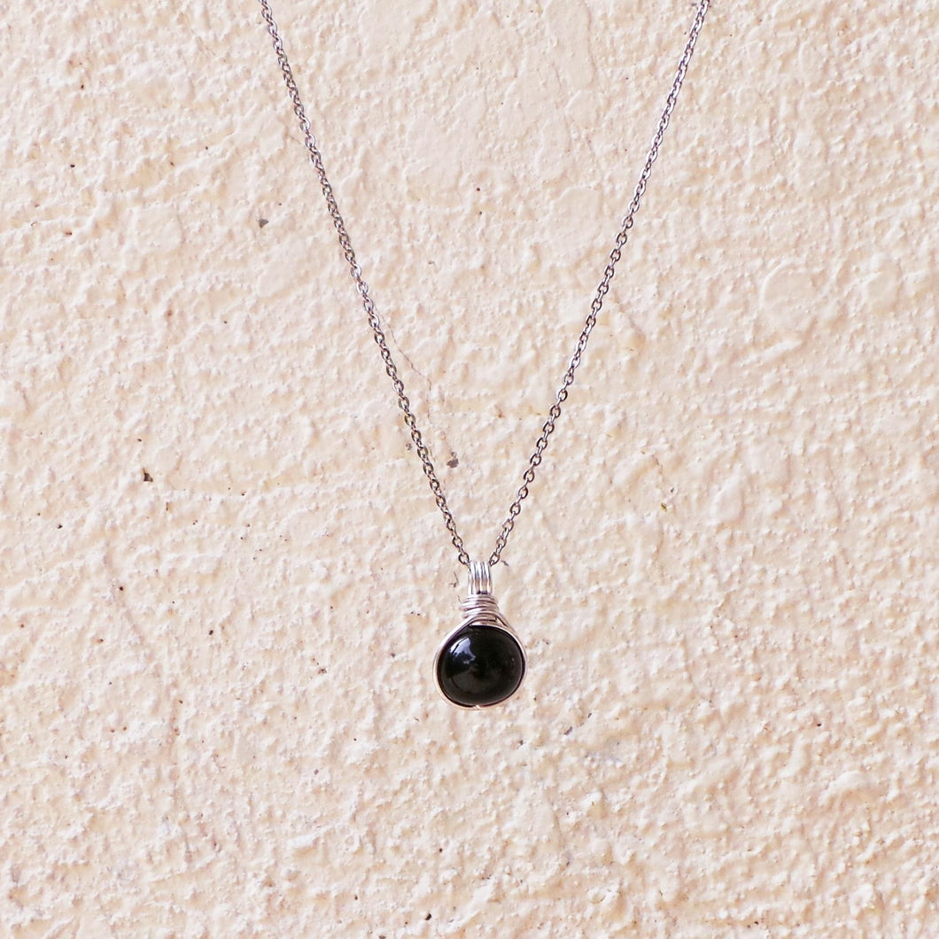 Dew Necklace - Onyx