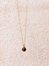 Dew Necklace - Tiger's Eye