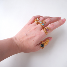 Pendant Series - Malachite Drop