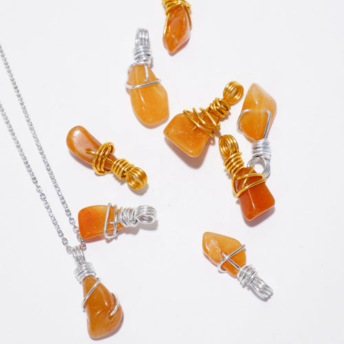 Free-form Carnelian Necklace