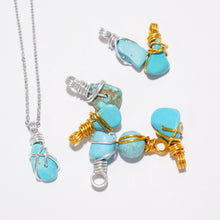 Free-Form Turquoise Necklace