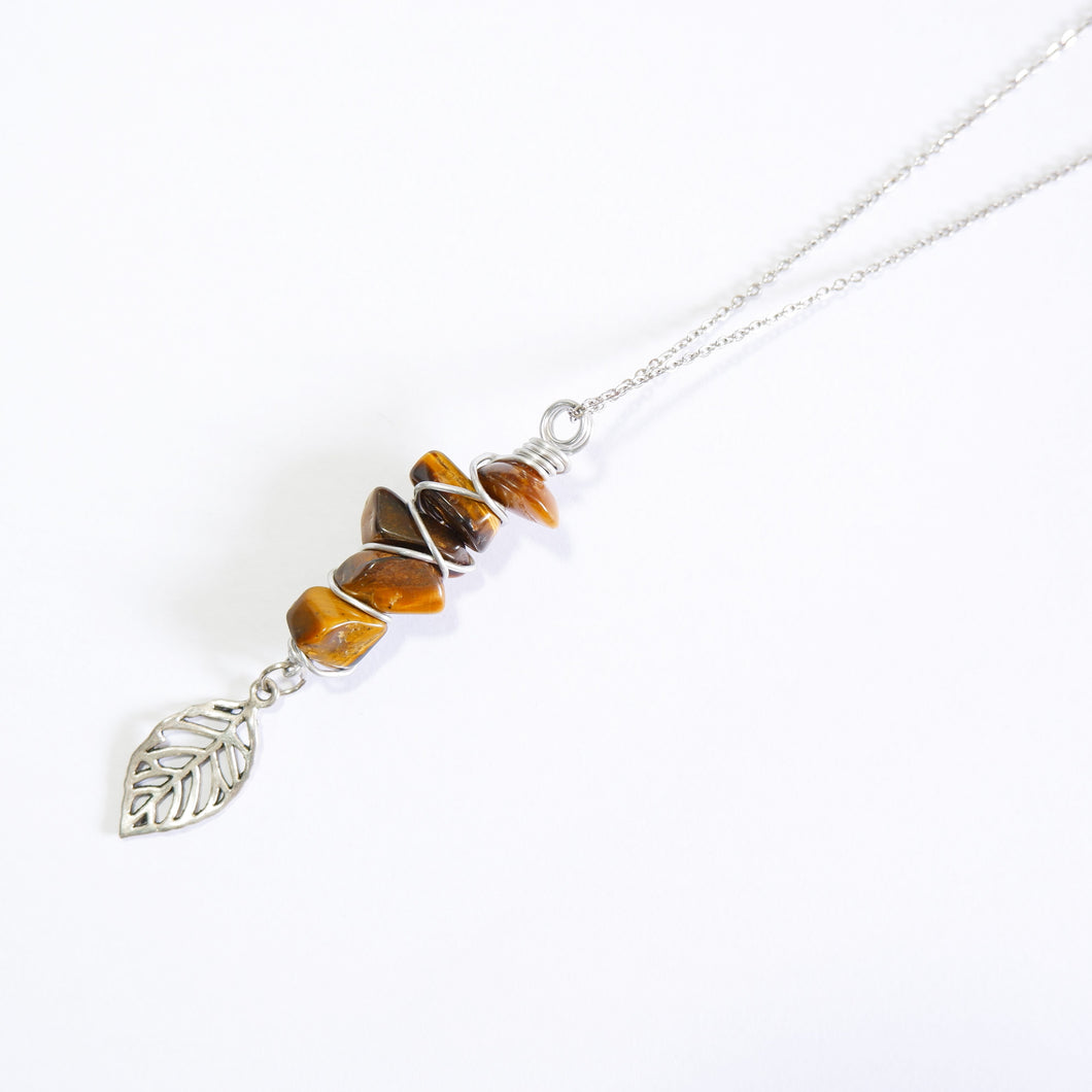 Fae Necklace - Tiger's Eye