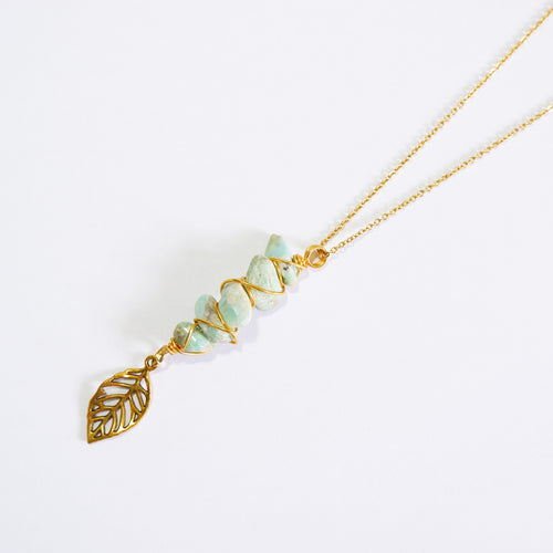 Fae Necklace - Amazonite