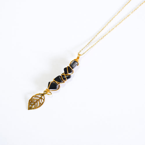 Fae Necklace - Onyx