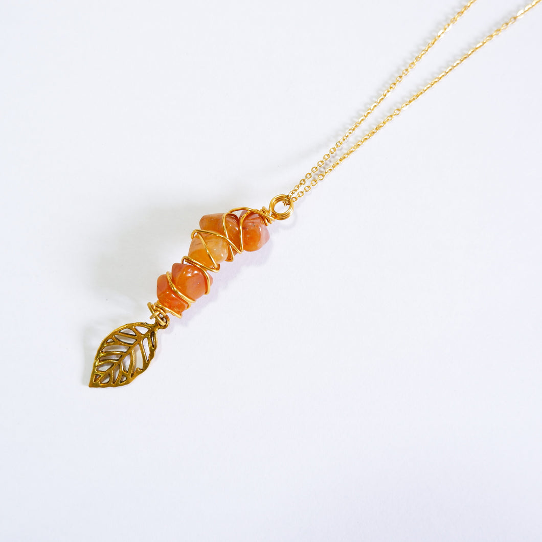 Fae Necklace - Carnelian