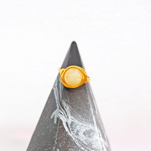 Simple Ring - Citrine