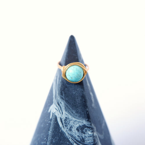 Simple Ring - Turquoise