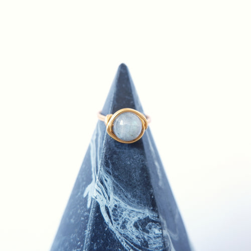 Simple Ring - Labradorite