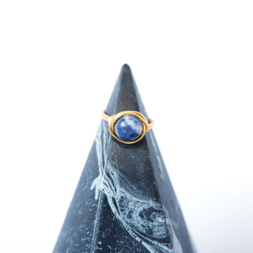 Simple Ring - Sodalite