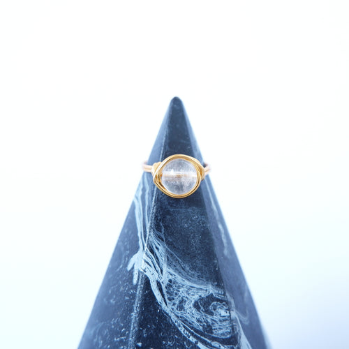 Simple Ring - Clear Quartz