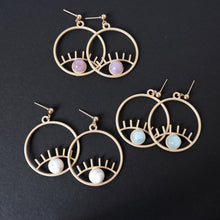 Eye Crystal Earrings