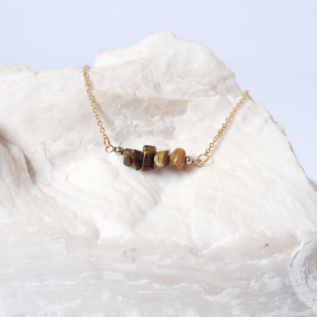 Gemstone Bar - Tiger's Eye