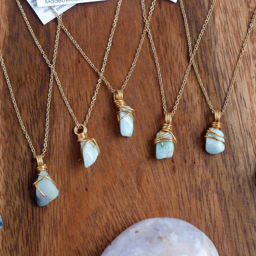 Free-form Amazonite Necklace