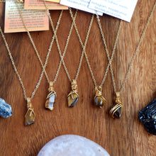 Free-form Tiger's eye Necklace
