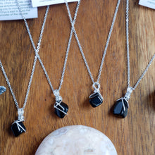 Free-form Onyx Necklace