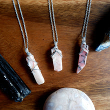 Pink Opal Shard Necklace