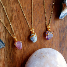 Free-form Fluorite Necklace