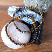 Tiger's Eye Crystal Bracelet 4mm