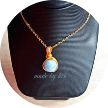 Dew Necklace - Aquamarine