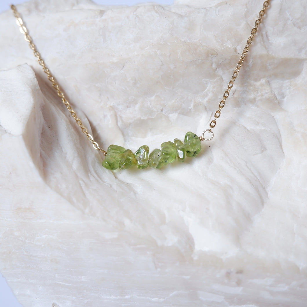Gemstone Bar - Peridot