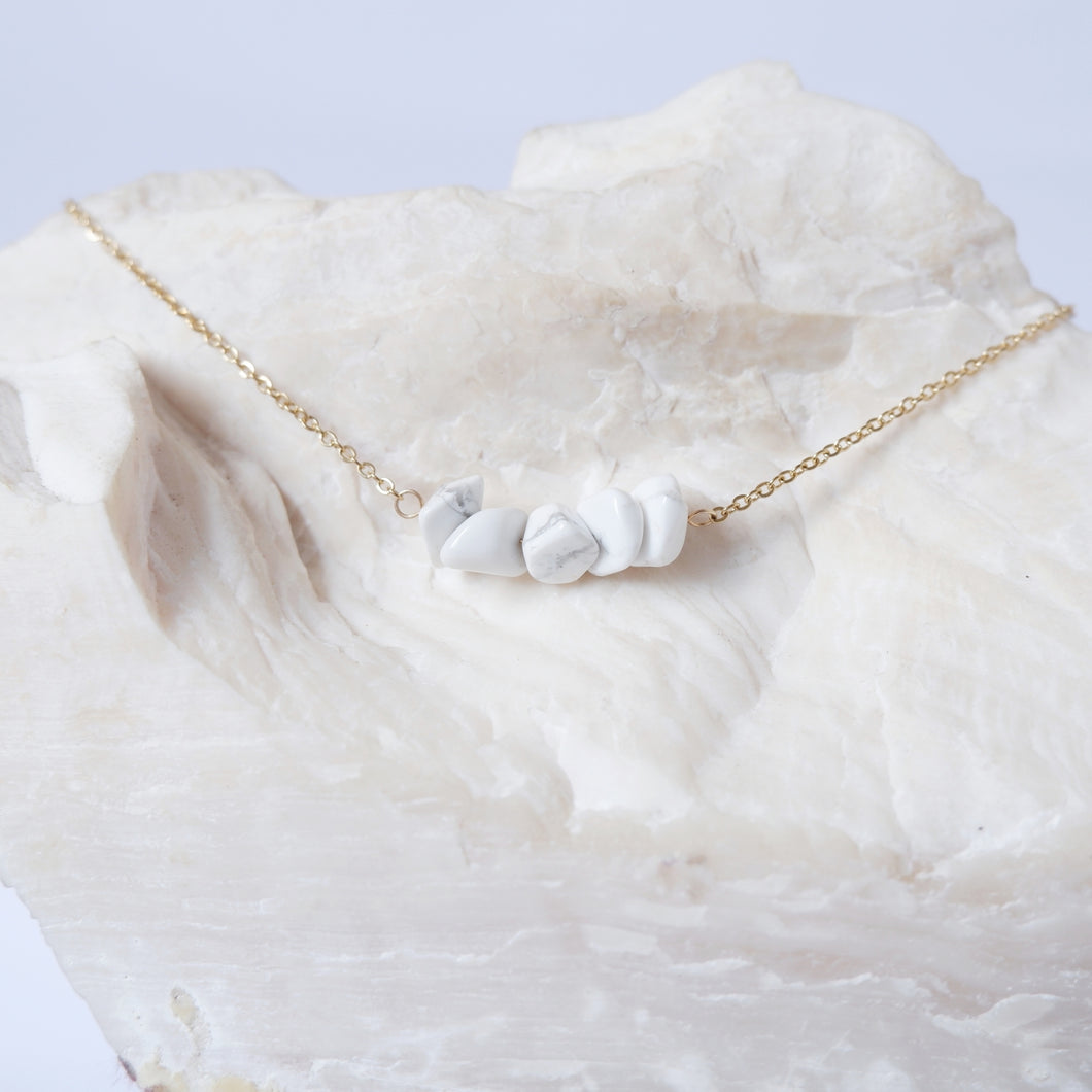 Gemstone Bar - Howlite
