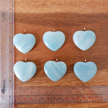 Amazonite Heart Tumbled Stone