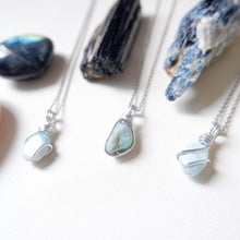 Free-form Larimar Necklace