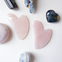 Rose Quartz Guasha - Face and Body Massage