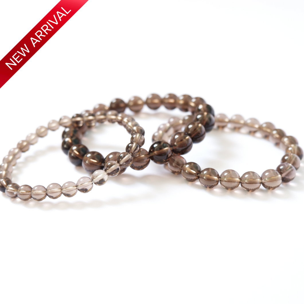 Smoky Quartz Crystal Bracelet