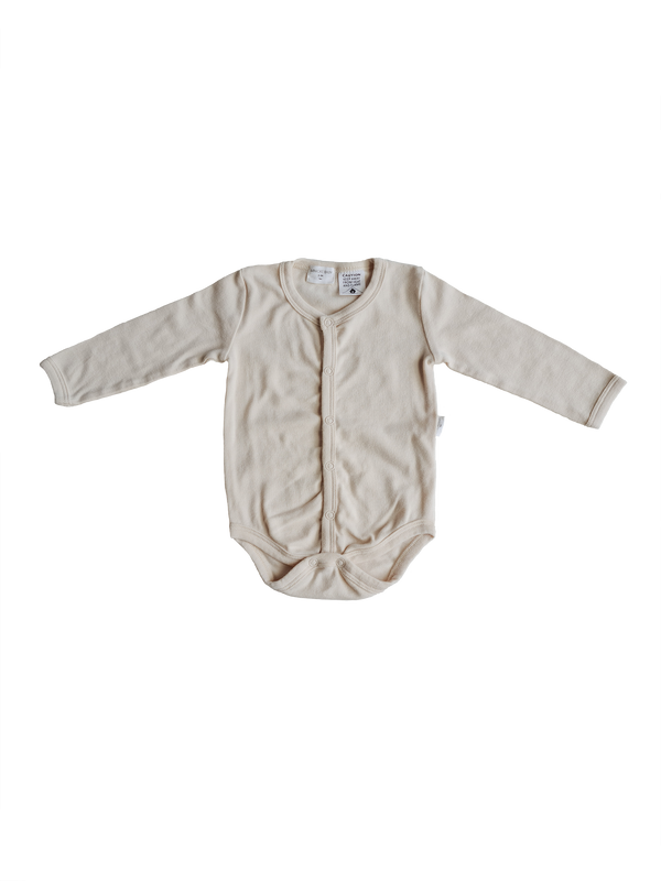 Organic Basic Bodysuit - Birch
