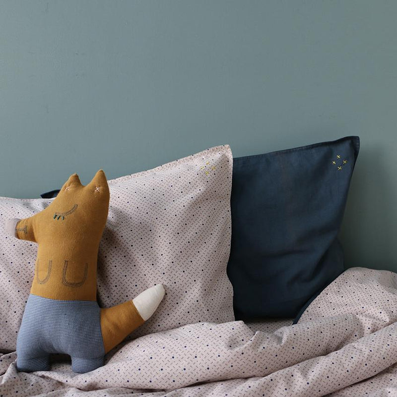 Camomile London Mr Fox Animal Cushion | MINIOKE