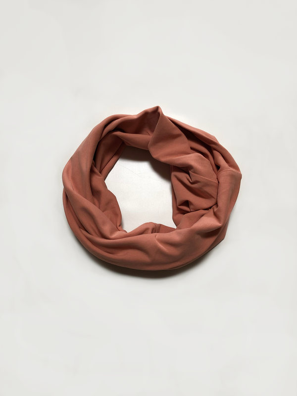 Minioke Baby Sample Snood - Terracotta-Minioke Baby Sample-MINIOKE