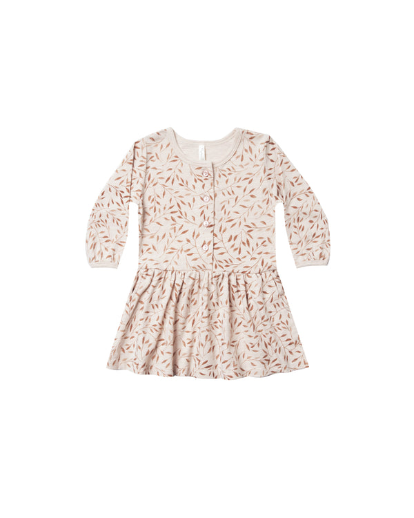 Rylee + Cru Vines Button Up Dress - Wheat | MINIOKE