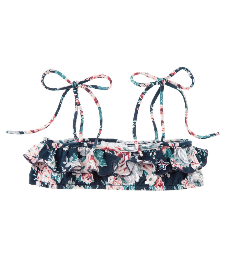 Tocoto Vintage Flowers Swim Top