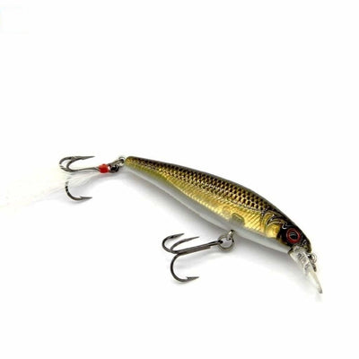 Minnow Jerk SD3 - Green Hologram - Hard Baits Lures (Freshwater)