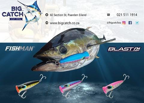 Big Catch Fishing Tackle - FISHMAN Tackle Blast Poppers