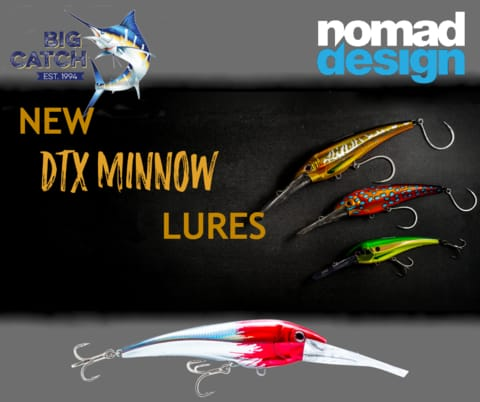 Big Catch Fishing Tackle - Nomad Design DTX Minnow Fishing Lures