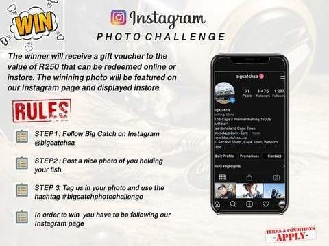 Big Catch Fishing Tackle - Big Catch Photo Challenge Competition