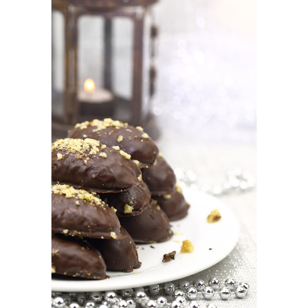 Greek Cuisine Vaud Chocolate Walnut Honey Cookies