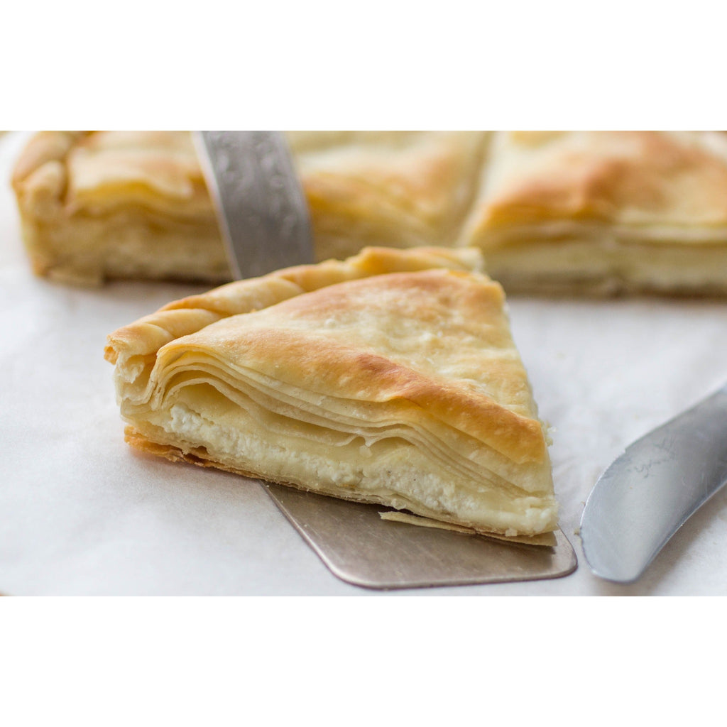 Greek Cuisine Vaud Feta Cheese Pie