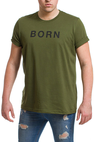 Men's Born Lucky T-shirt
