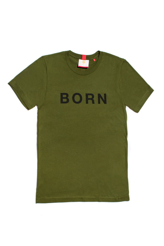 Women's Born Lucky T-shirt